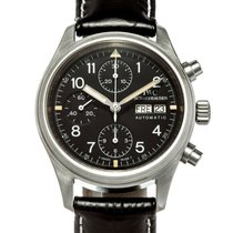 IWC Pilot Chronograph Steel 39mm Black United States of America, Texas, Houston