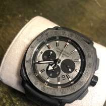 JeanRichard Carbon Automatic Black No numerals 44mm pre-owned Terrascope