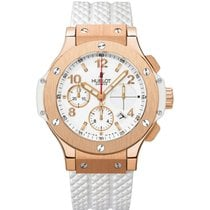 Hublot Big Bang 41 mm Oro rosado 41mm Blanco Árabes