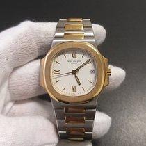 Patek Philippe 3800/001 Gold/Steel Nautilus pre-owned