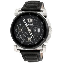Diesel Steel 47mm Quartz DZT1000 new