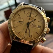 Omega Speedmaster Reduced Mycket bra Guld/Stål 38mm Automatisk