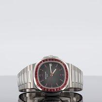 Patek Philippe Nautilus Platinum 39mm Grey No numerals