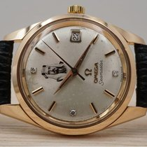 Omega Seamaster Rose gold 35mm Champagne