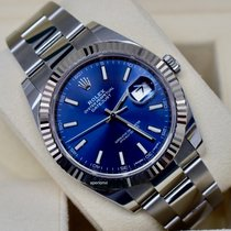 Rolex Datejust Gold/Steel 41mm Blue No numerals United States of America, Virginia, Arlington