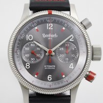 Hanhart Steel 40mm Automatic 31A0396 pre-owned