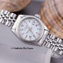 Rolex Stahl Automatik Silber Keine Ziffern 26mm gebraucht Lady-Datejust