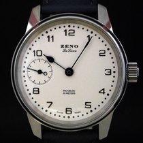 Zeno-Watch Basel Stahl 41mm Handaufzug 6558 gebraucht Deutschland, Leer/Ostfriesland
