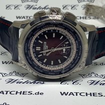 Patek Philippe World Time Chronograph Witgoud 39.5mm Zwart