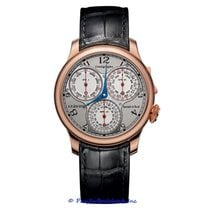 F.P.Journe Rose gold Automatic Silver 40mm pre-owned Souveraine