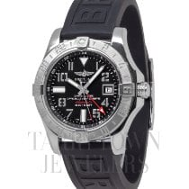 Breitling Avenger II GMT Steel 44mm Black Arabic numerals United States of America, New York, Hartsdale