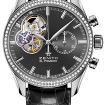 Zenith El Primero Chronomaster Lady Steel 38mm Grey United States of America, New York, Airmont