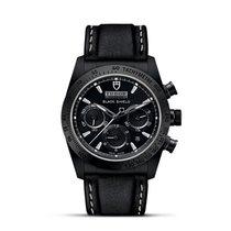 Tudor Fastrider Black Shield 42000CN-0017  Tudor Black Shield Cronografo Ceramica Pelle 2019 new