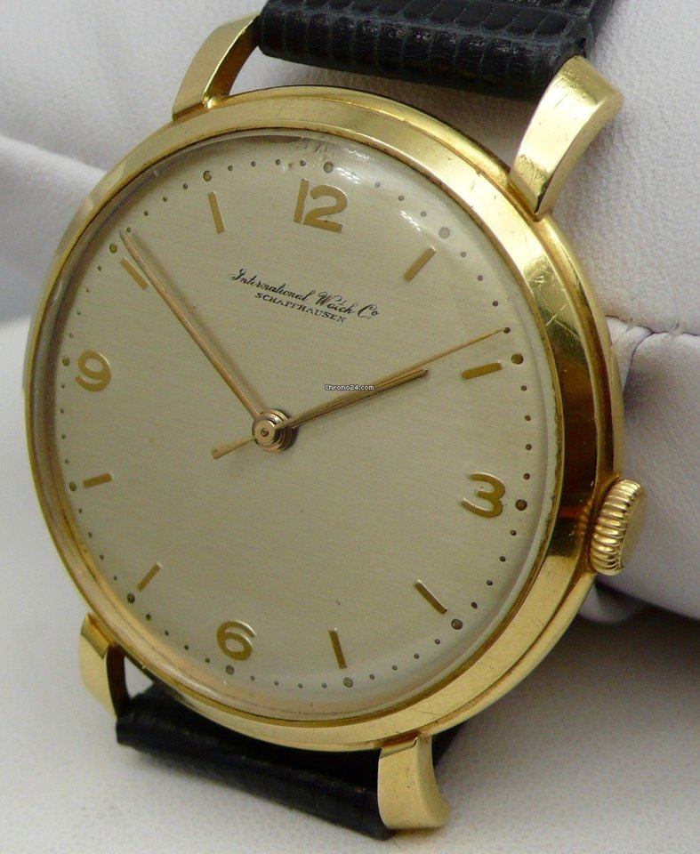 dc19ea53ebf IWC Yellow gold watches - all prices for IWC Yellow gold watches on Chrono24