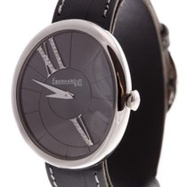 Eberhard & Co. new Quartz Guilloché dial Gemstones and/or diamonds 32mm Steel Sapphire crystal