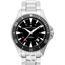 Hamilton Khaki Navy Scuba Auto Black Steel 40mm - H82335131