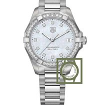 TAG Heuer Aquaracer Lady Staal 32mm Parelmoer