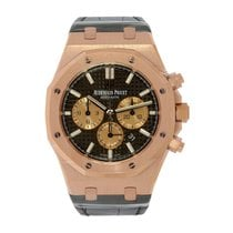 Audemars Piguet Royal Oak Chronograph 41mm Rose Gold Brown...