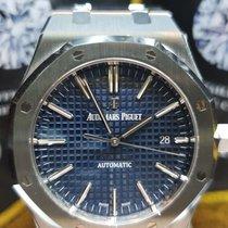 Audemars Piguet Royal Oak Selfwinding nieuw 2018 Automatisch Horloge met originele doos en originele papieren 15400ST.OO.1220ST.03