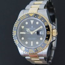 Rolex GMT-Master II occasion 40mm Or/Acier