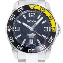 Doxa 48mm Automatic 2010 pre-owned Black