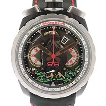 Bomberg Steel 47mm Automatic BS47CHASP.046-2.3 new