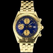 Breitling Chronomat Gelbgold 40mm Blau Schweiz, Nyon (Genéve)
