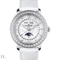 Blancpain Steel Automatic Mother of pearl 35mm new Villeret Moonphase