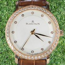 Blancpain Красное золото 29.2mm Автоподзавод 6104-2987-55a подержанные