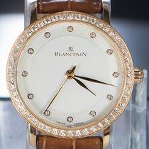 Blancpain Villeret Ultra-Slim Rose gold 29.2mm White No numerals