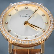 Blancpain Oro rosso 29.2mm Automatico 6104 2987 55A usato