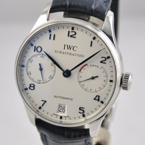 IWC Portuguese Automatic Steel 42mm Silver Arabic numerals United States of America, Ohio, Mason
