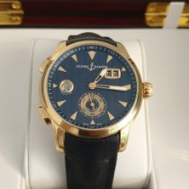 Ulysse Nardin Dual Time Rose gold Blue