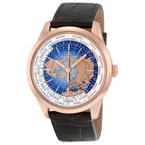 Jaeger-LeCoultre Geophysic Universal Time Oro rosado 41.6mm Azul Sin cifras