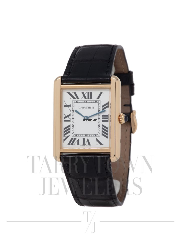 detailed look 5899b 446c2 Cartier Tank Solo