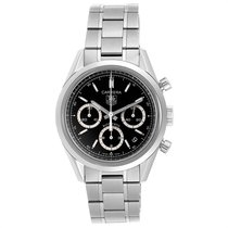 TAG Heuer Carrera Calibre 17 Steel 39mm Black