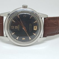 Omega pre-owned Automatic Black Plastic