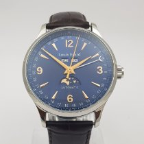 Louis Erard 1931 Steel 42mm Blue