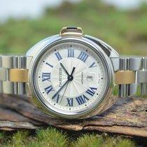 Cartier Clé de Cartier Сталь 32.5mm Cеребро