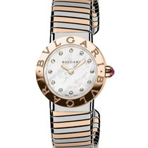 Bulgari Bulgari Rose gold 26mm Mother of pearl No numerals United States of America, New York, New York