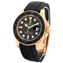 Rolex Yacht-Master 40 pre-owned 40mm Black Date Fold clasp