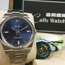 Rolex Cally - 114300 39mm Oyster Perpetual Steel Blue Index Dial