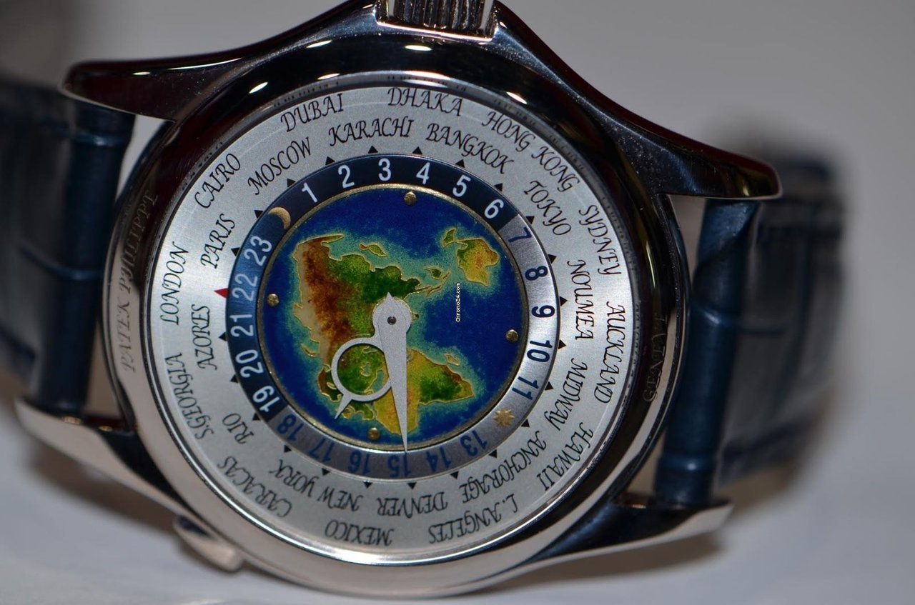 Patek Philippe World Time 5131G pre-owned