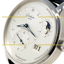Glashütte Original PanoMaticLunar 1-90-02-42-32-05 Glashutte PanoMaticLunar Quadrante Bianco new