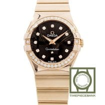 Omega Constellation Quartz Or rose 27mm Brun