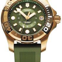 15531e41305 Victorinox Swiss Army Dive Master 500 Green Dial Silicone... por 145 ...