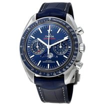 Omega Speedmaster Moonphase Blue Dial 44mm Mens Watch 304.33.4...