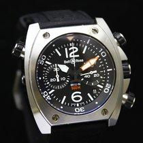 Bell & Ross Marine Diver Black Chronograph 500M  BR0294-BL-ST