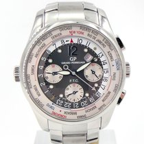 Girard Perregaux World Time Chronograph Ss Bracelet 43mm...