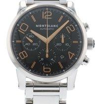 몽블랑 Timewalker 7069 Watch with Stainless Steel Bracelet and...